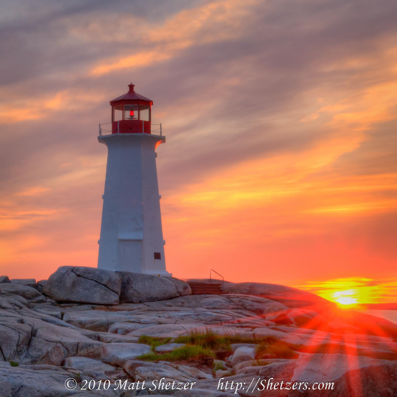 Newfoundland Lighthouse Wallpaper