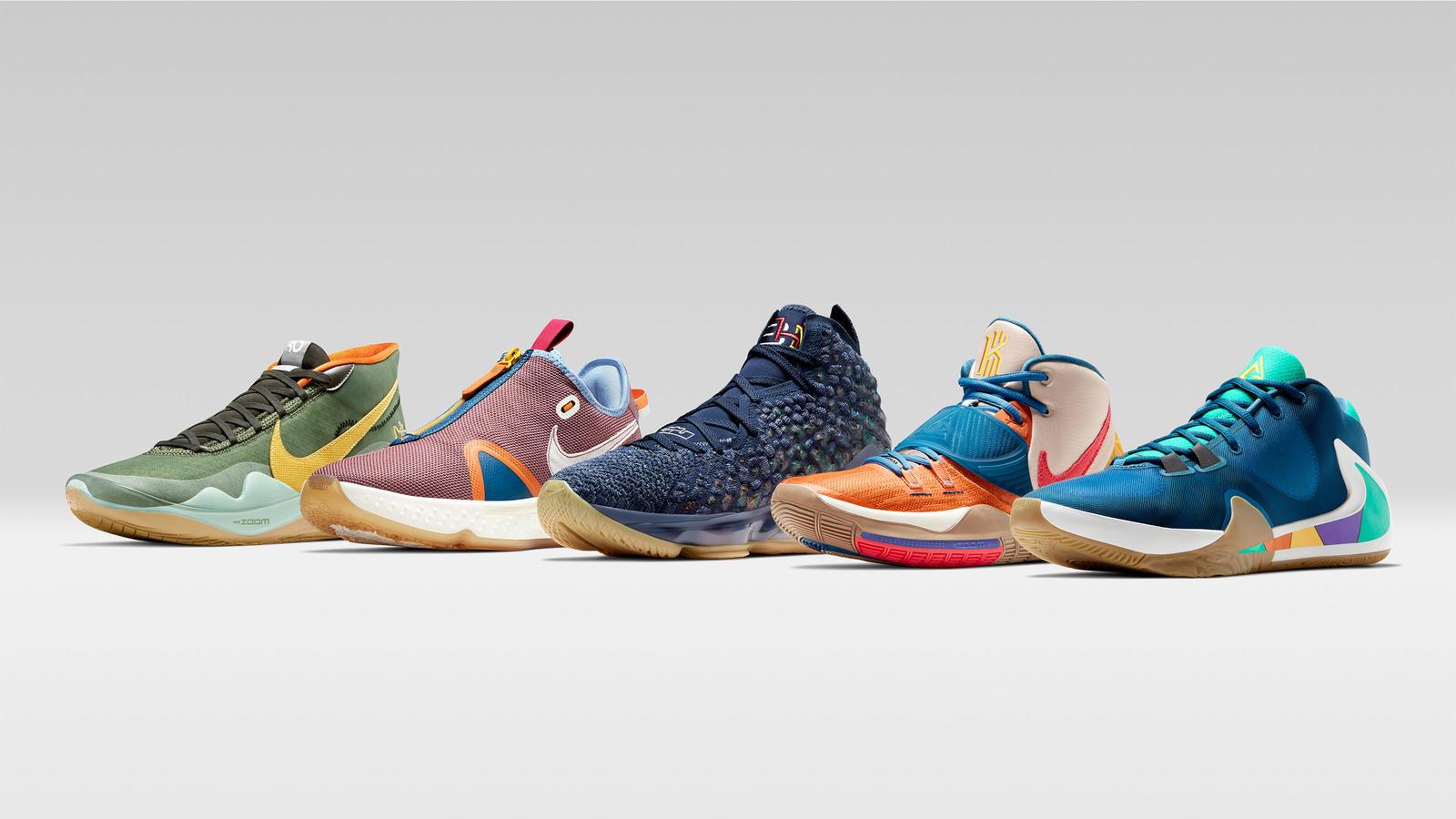 Black History Month 2020 Nike Basketball LEBRON 17 KYRIE 6 KD12 1600x900