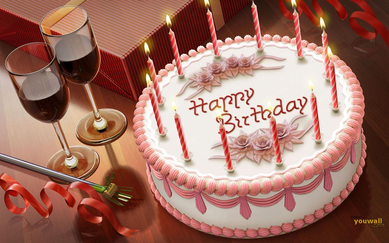 Happy Birthday Wallpaper   wallpaperwallpapersfree wallpaper 1280x800