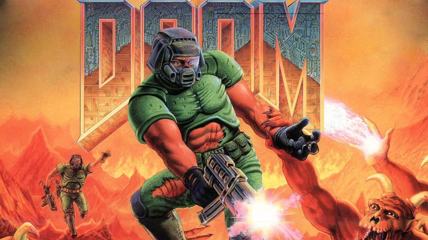 Doom Wallpaper in 1366x768 1366x768