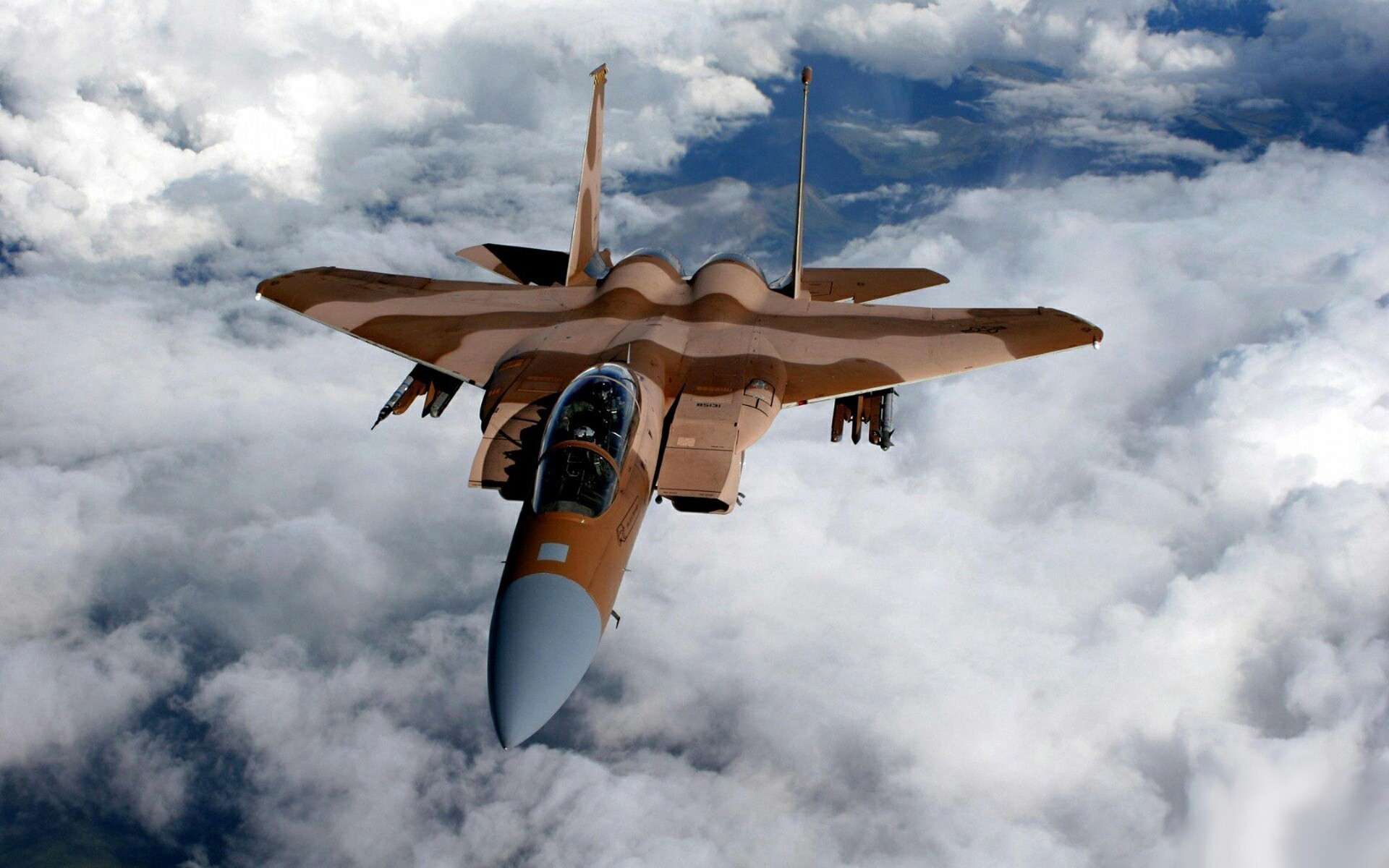 Wallpaper of Aircraft F15 Eagle Aviation Air Force background 1920x1200