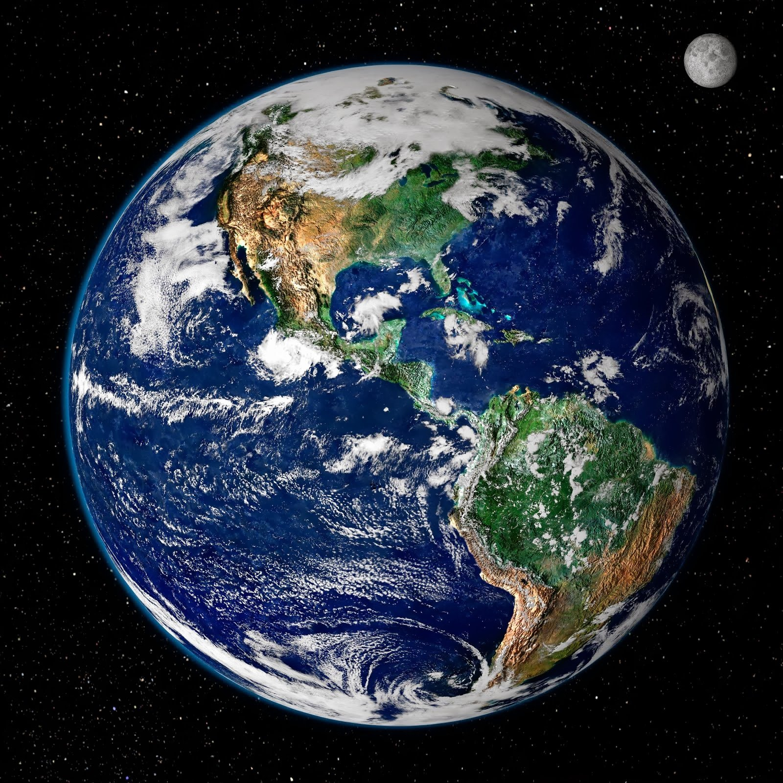 From Space in high resolution for High Definition Backgrounds HD 1600x1600