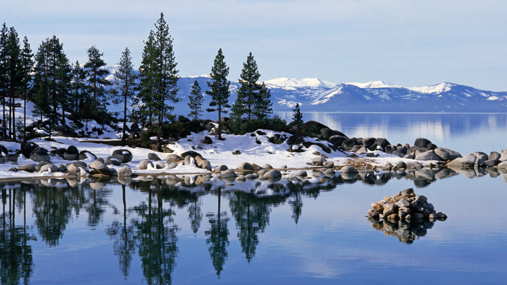 lake tahoe en invierno wallpaper   ForWallpapercom 1920x1080