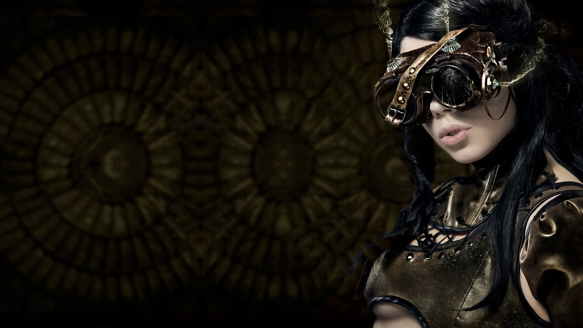 Steampunk girl Wallpaper 2875 1920x1080