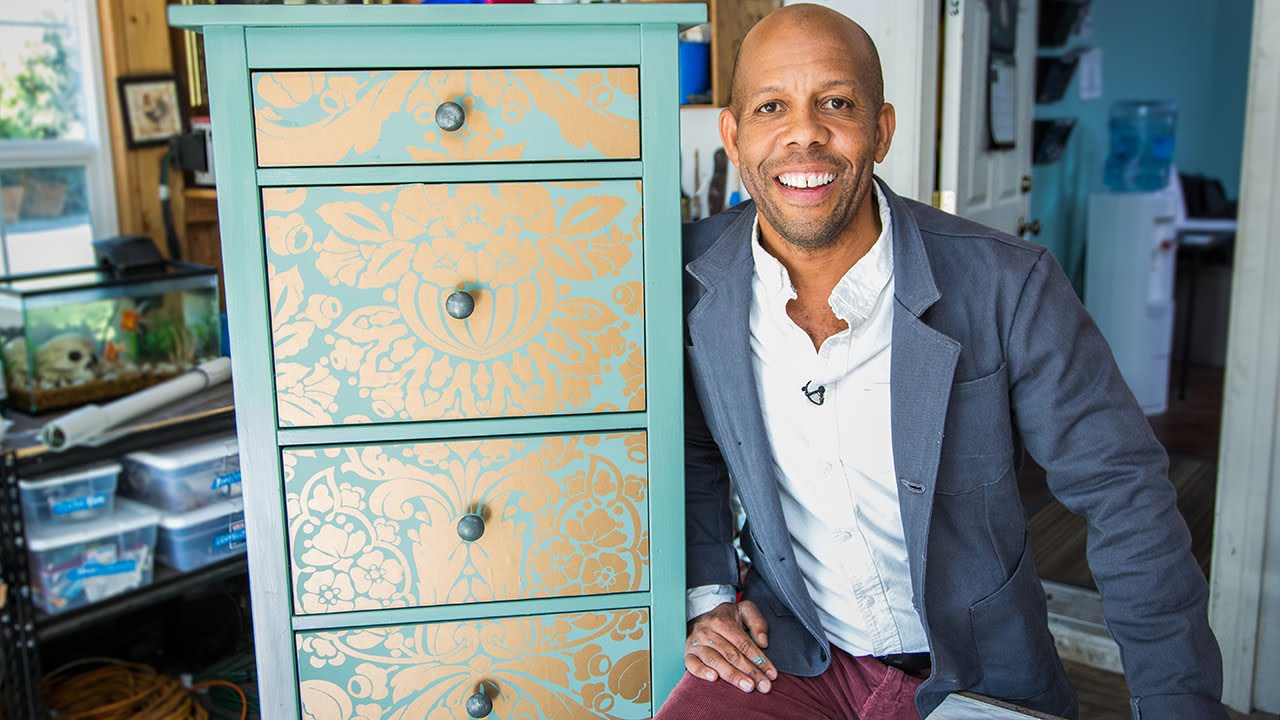Home Family   How to Makeover your Dresser using Wallpaper 1280x720