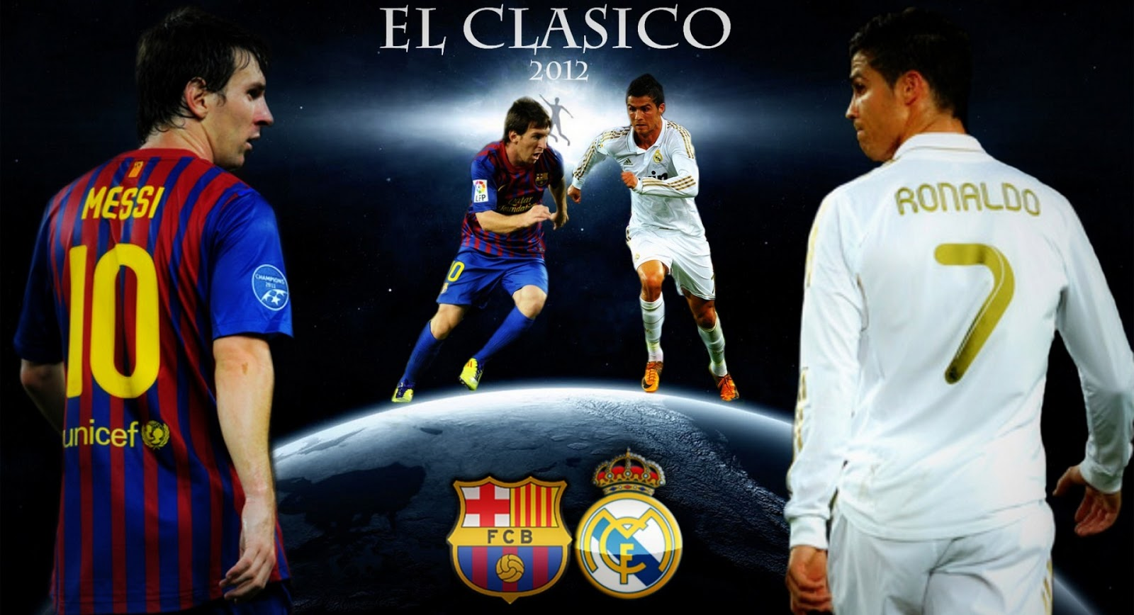 other wallpapers of Messi VS Ronaldo Wallpapers as often as possible 1600x868