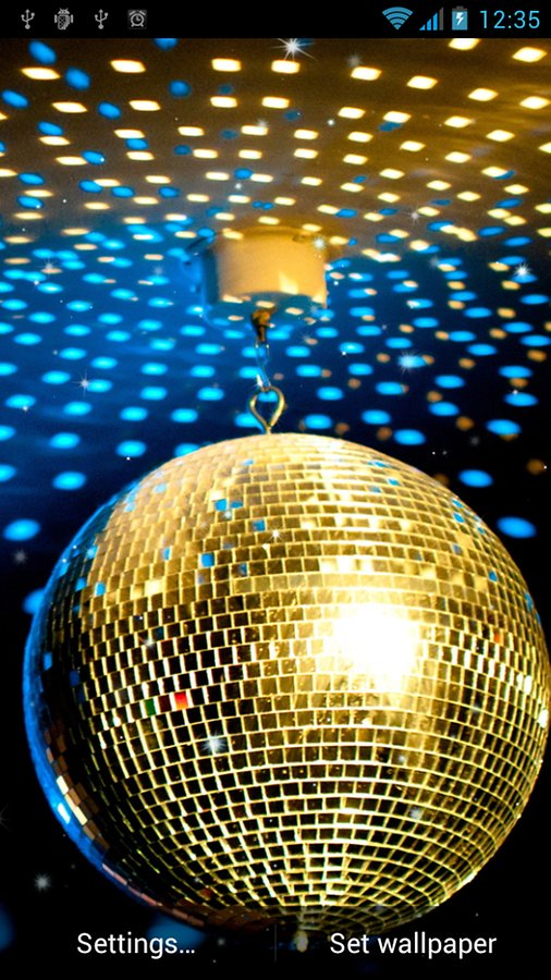 Disco Ball Live Wallpaper   Android Apps and Tests   AndroidPIT 506x900