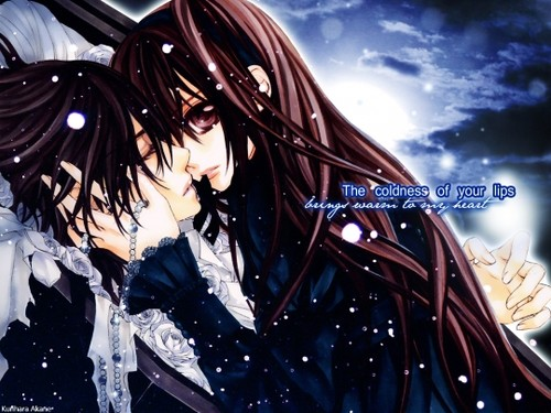 US Anime Love Quotes Wallpaper - WallpaperSafari Vampire Love Wallpaper