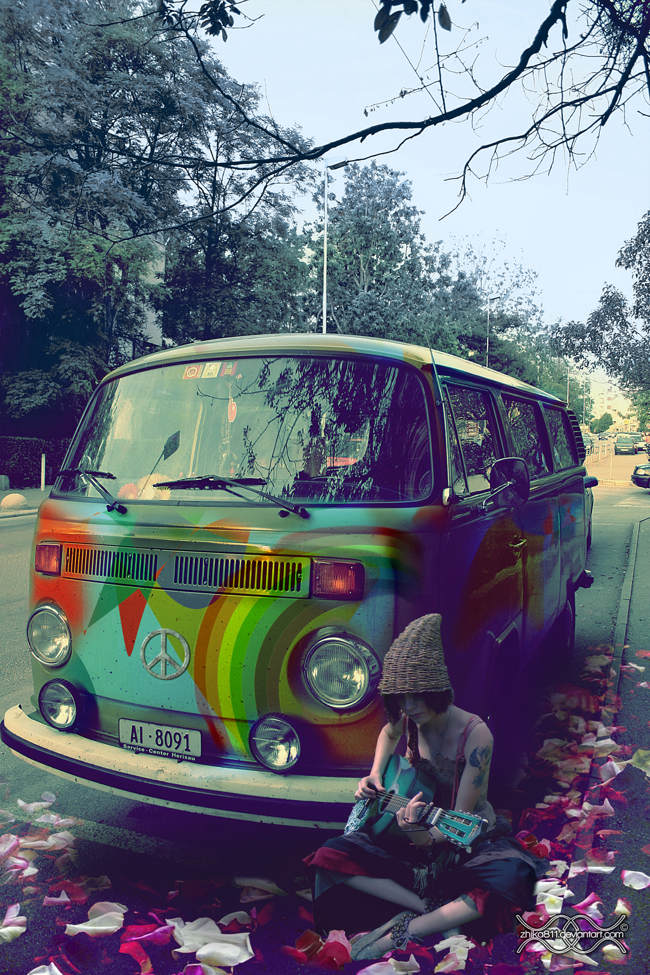 Iphone 6 wallpaper tumblr cars - And Wallpapers Cool Psychedelic Hippy Stock Alive In Hippie Based On
