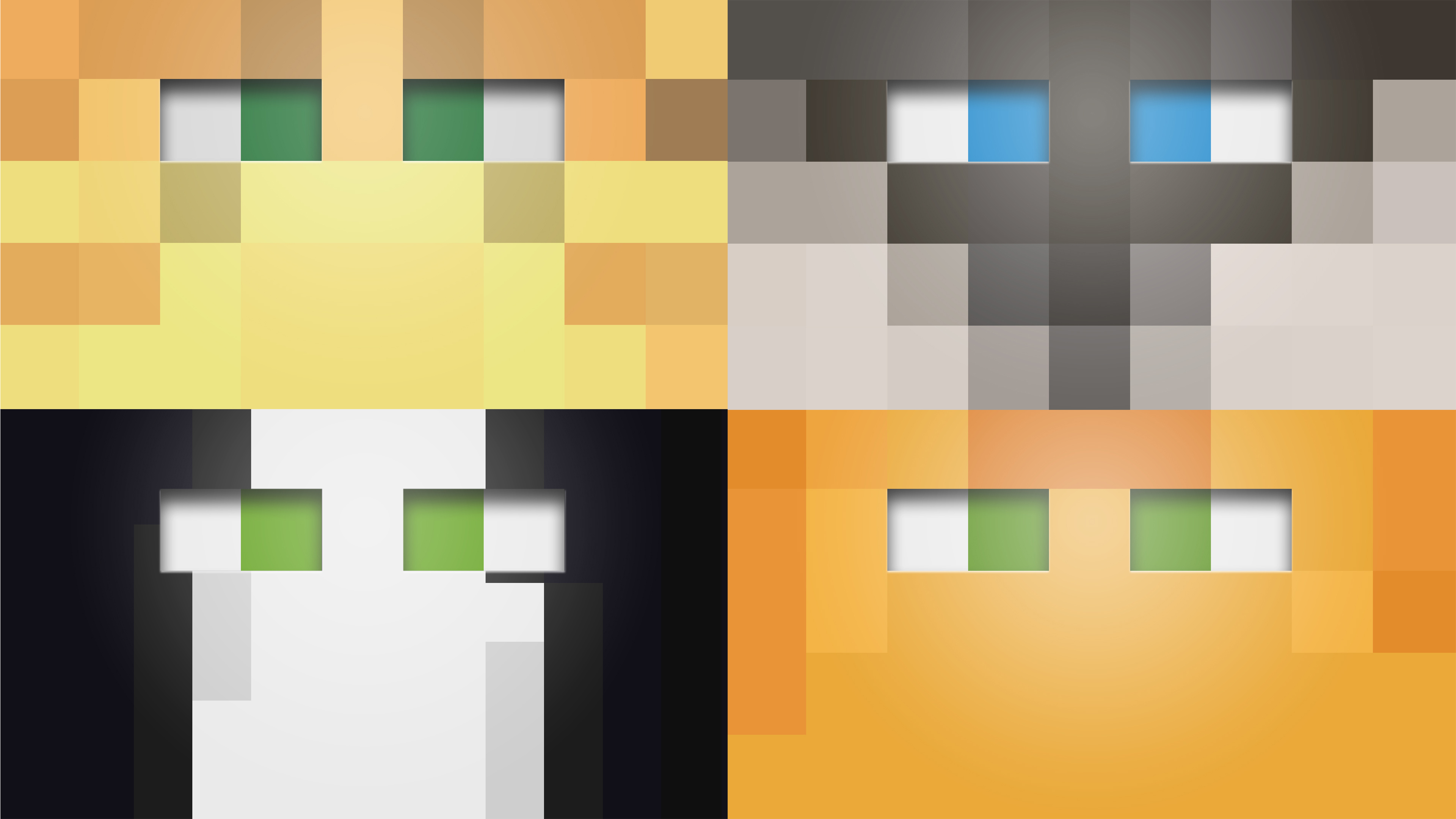 minecraft cat wallpapers by averagejoeftw fan art wallpaper games 3840x2160