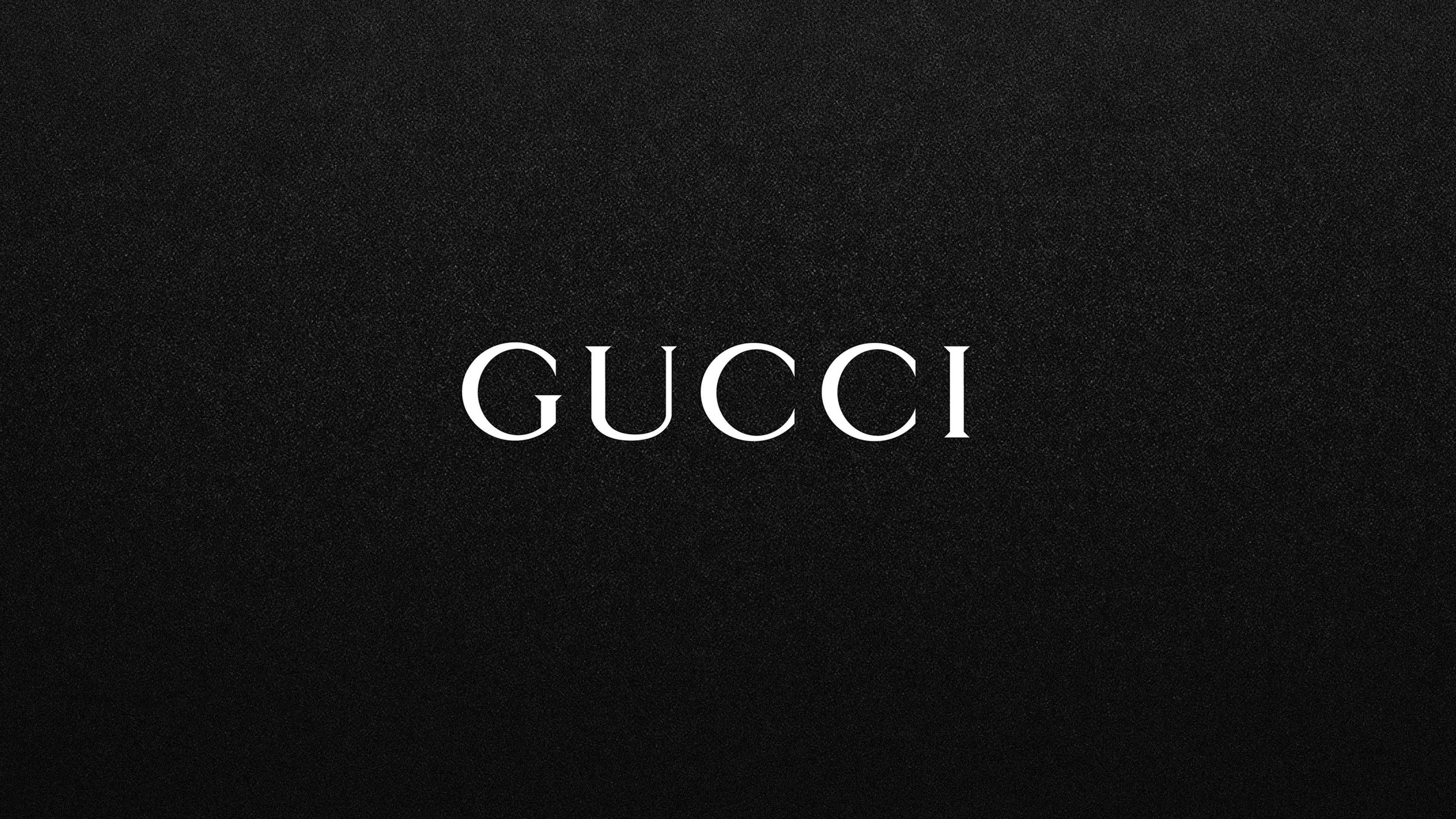 Gucci Logo Wallpapers HD 3840x2160