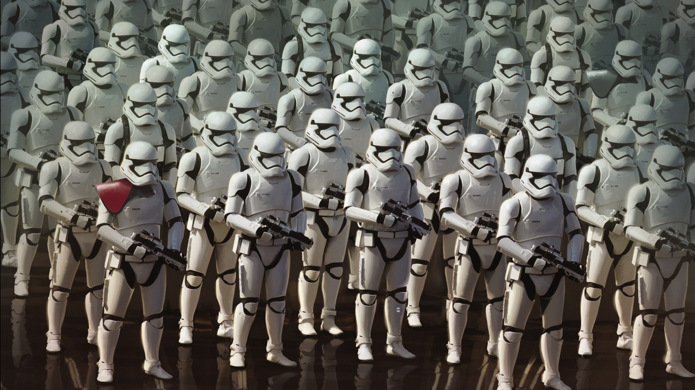 Star Wars The Force Awakens Stormtroopers Wallpapers HD Wallpapers 1366x768