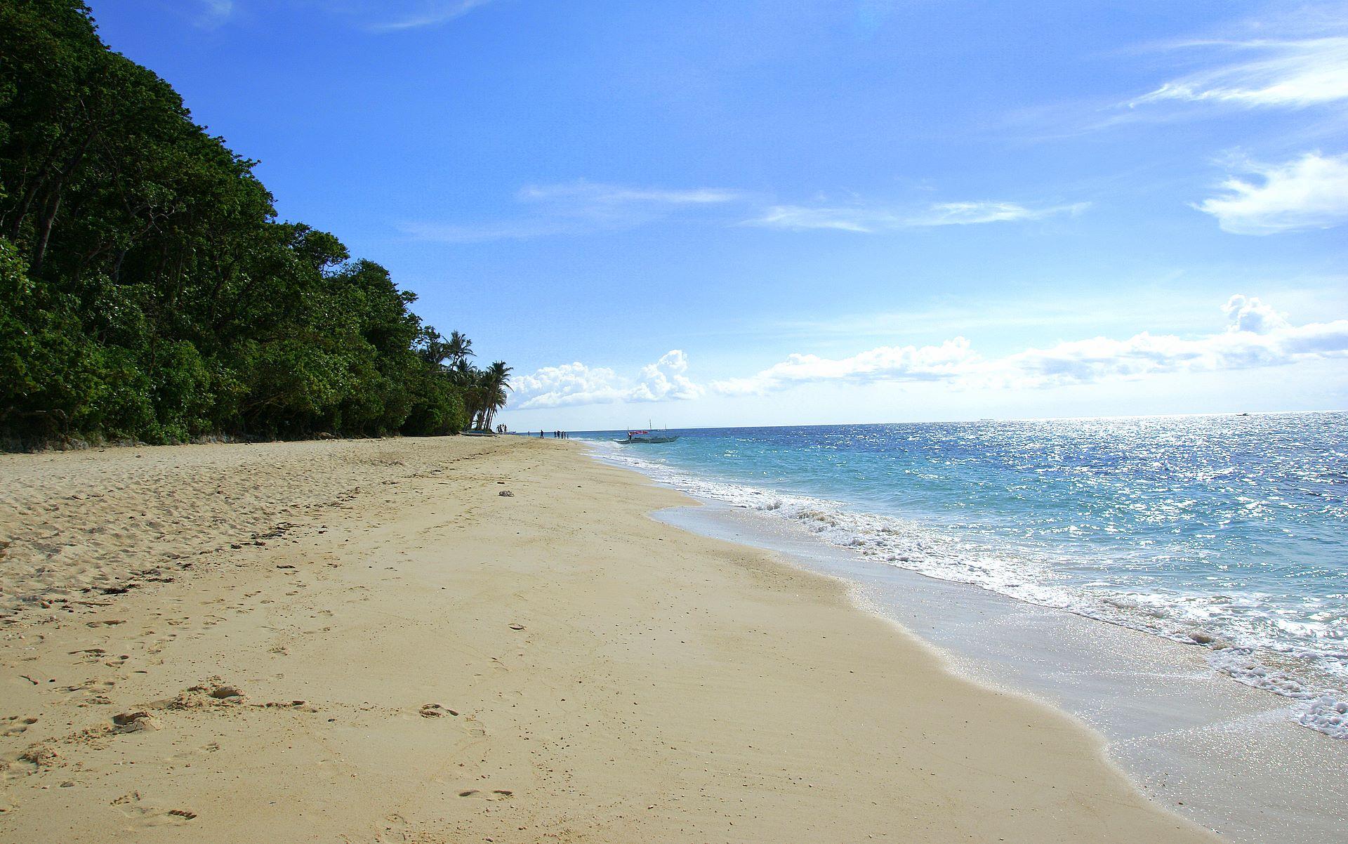 Tropical Island Beach Ambience Sound: High Resolution Beach Scene Wallpaper