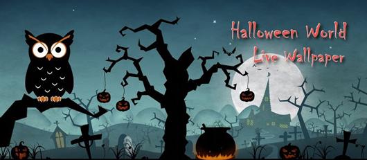 live halloween wallpaper for desktop wallpapersafari