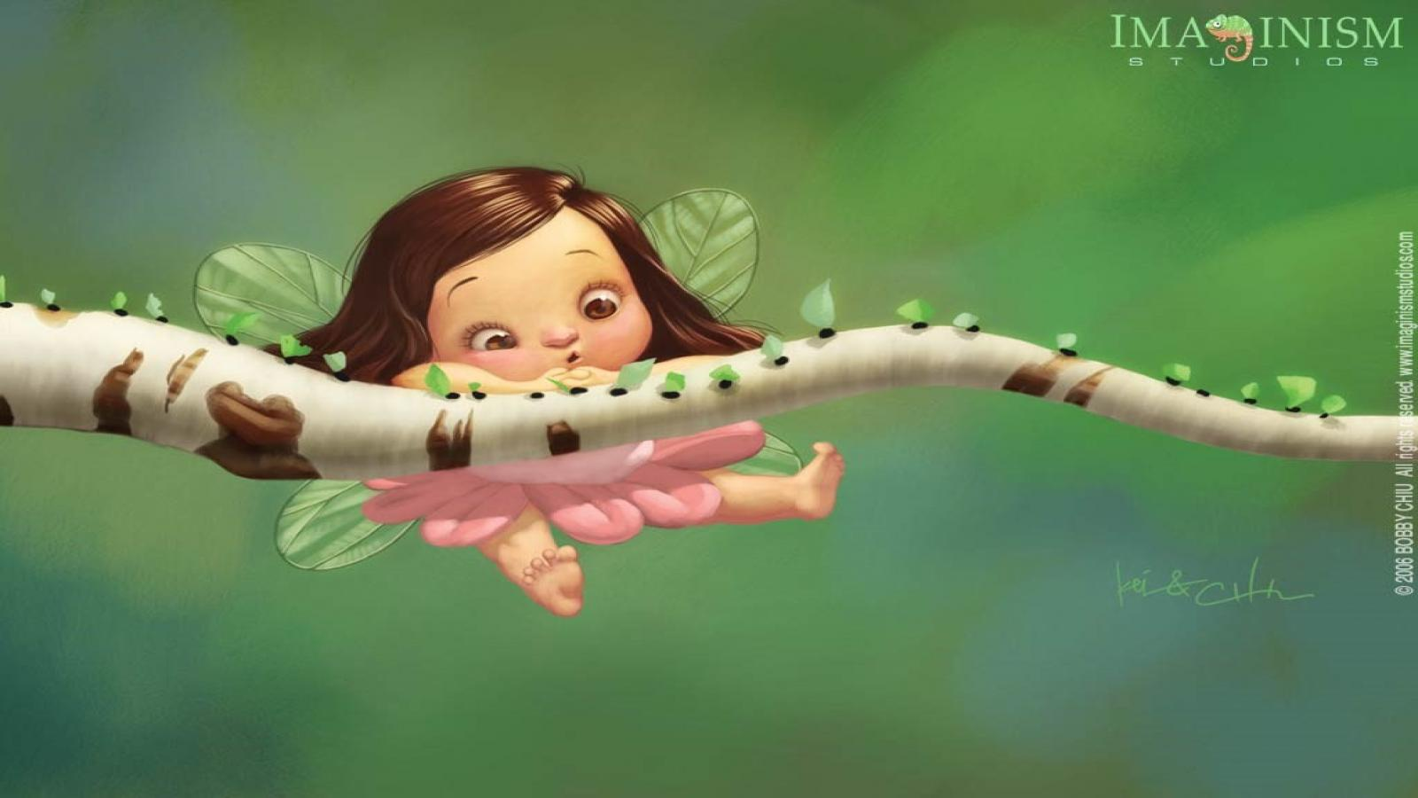 Cute Fairy HD Wallpapers 1600x900 Cute Wallpapers 1600x900 Download 1600x900