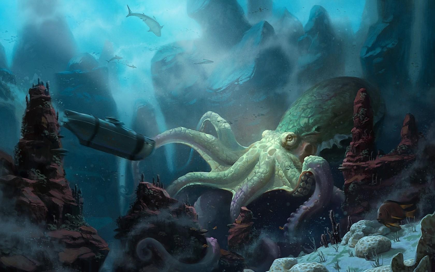 Nautilus wallpaper 1680x1050