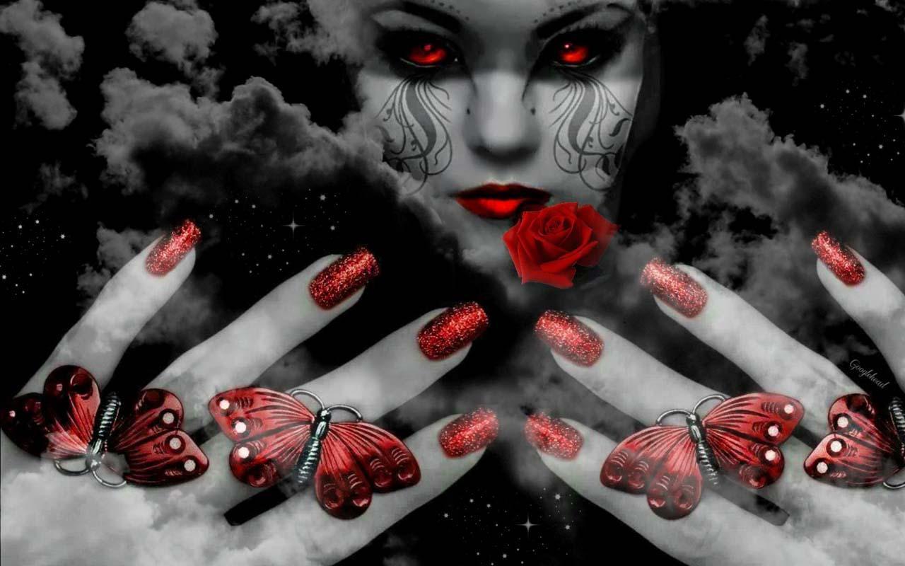 Evil Witch Wallpaper   screenshot 1280x800