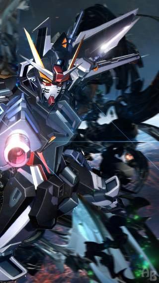 Gundam 005 Iphone Wallpaper Pictures 320x568