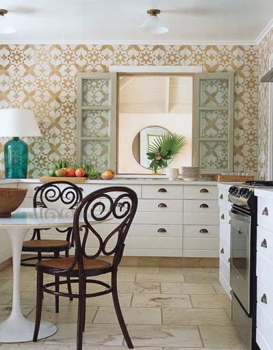 wallpaper in a kitchen 2015   Grasscloth Wallpaper 399x512