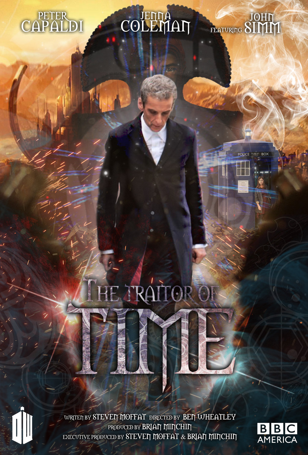 Apprentice   Autumn 2015 Doctor Who Series 8 Fanmade Posters 3 1024x1514