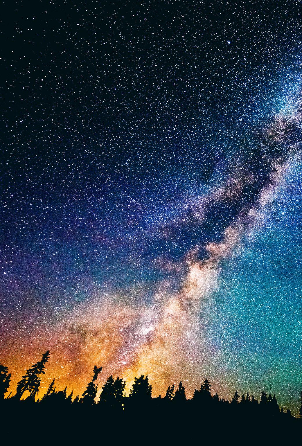 Night Sky Stars Iphone Wallpaper Download ipad 1040x1536
