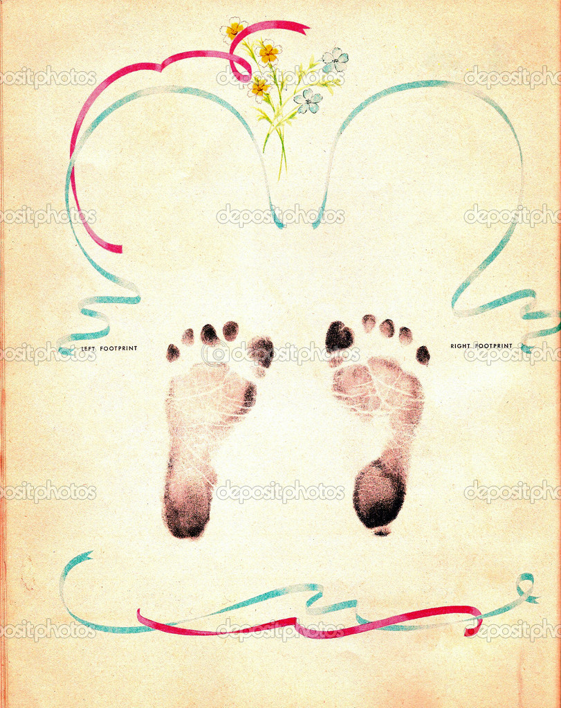 Go Back Images For Baby Footprint Backgrounds 811x1023