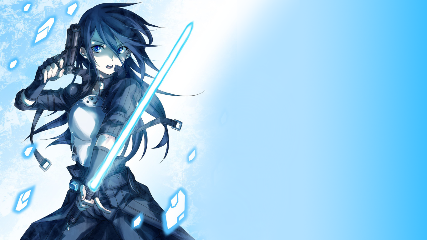 48 Sword Art Online Wallpaper 1366x768 On Wallpapersafari