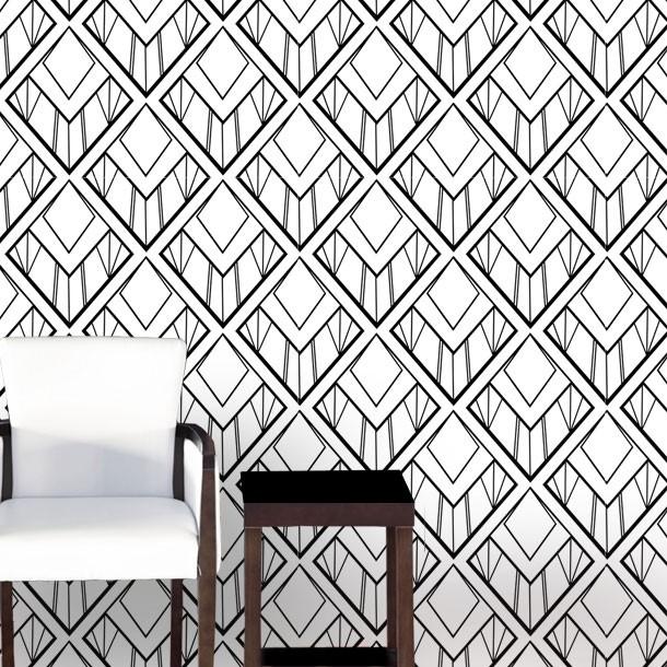 show all blinds 2 murals 18 wallpaper 11 art deco fans wallpaper 610x610