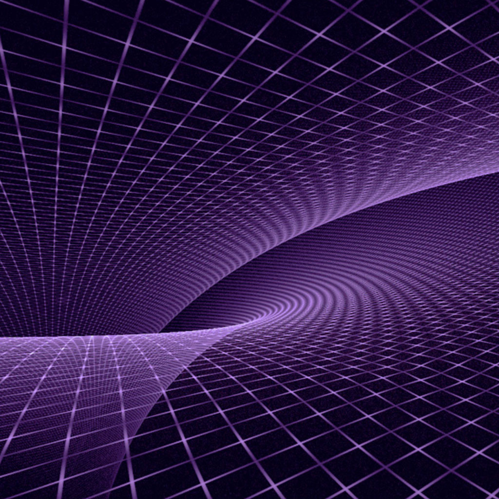 Purple Fractal Amazon Kindle Fire wallpapers Tablet wallpapers and 1024x1024