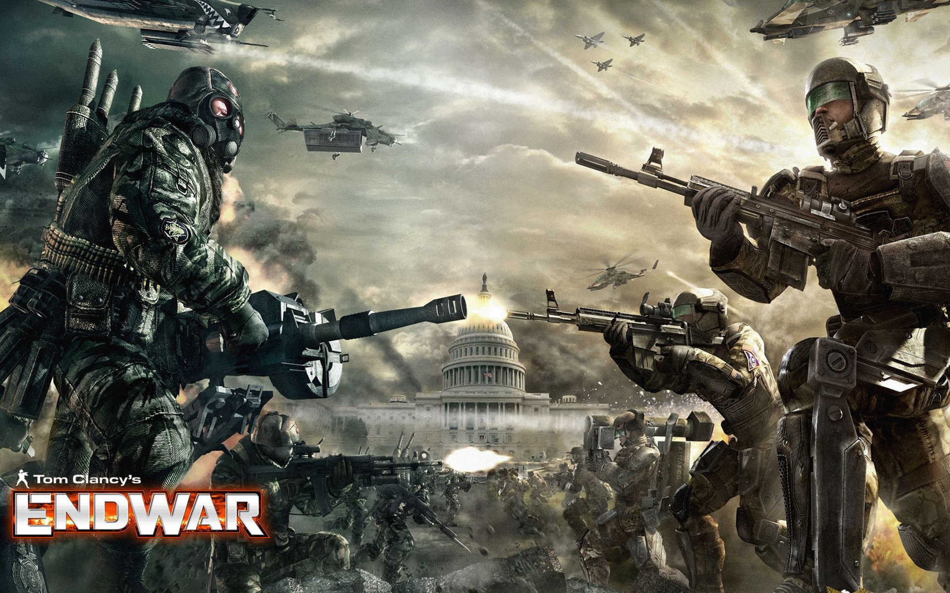 Tom Clancys EndWar Full HD Wallpaper and Background 1920x1200
