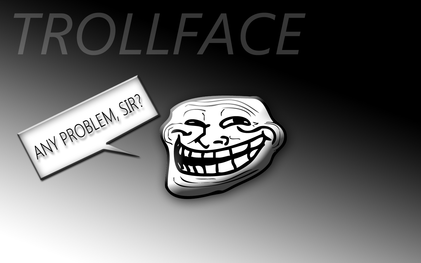 Problem Meme Troll Face Troll Face Wallpapers ...