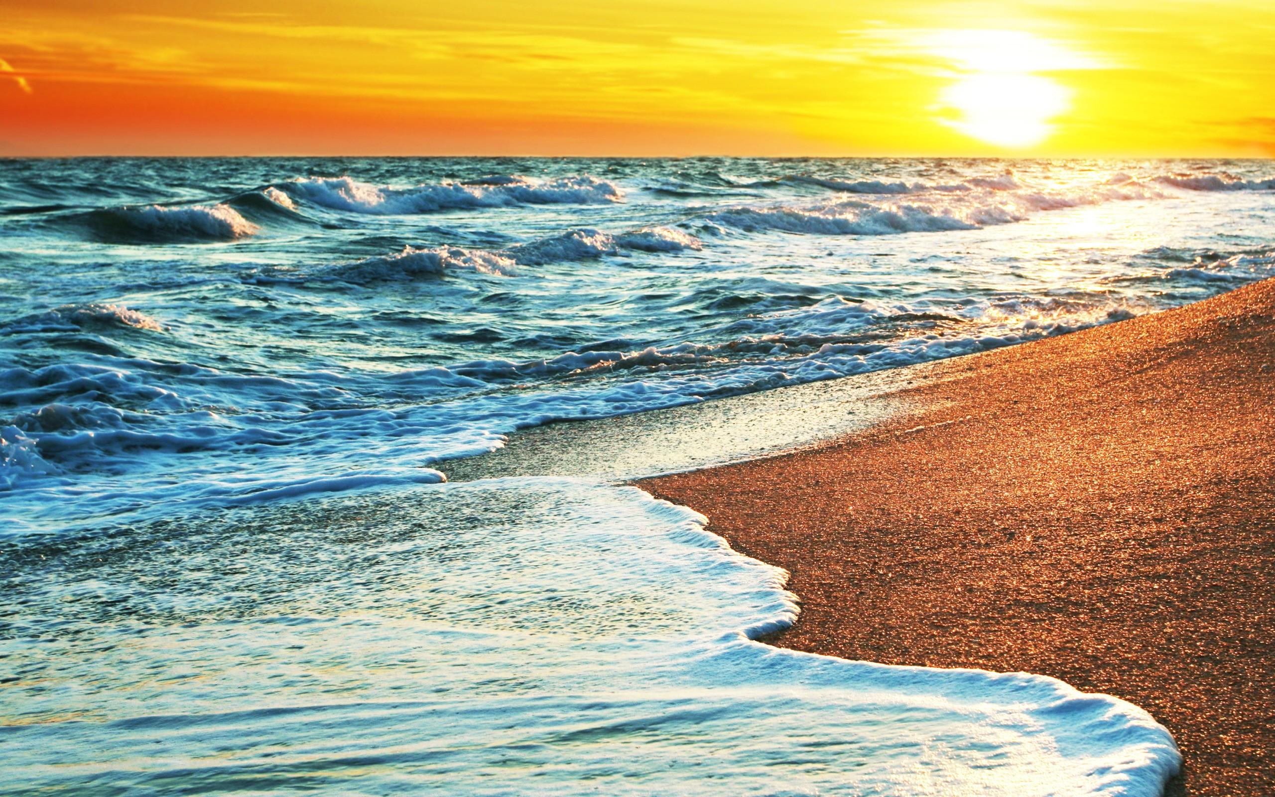 Beach Waves Wallpapers For Desktop Beach Waves: Beach Wave Wallpaper