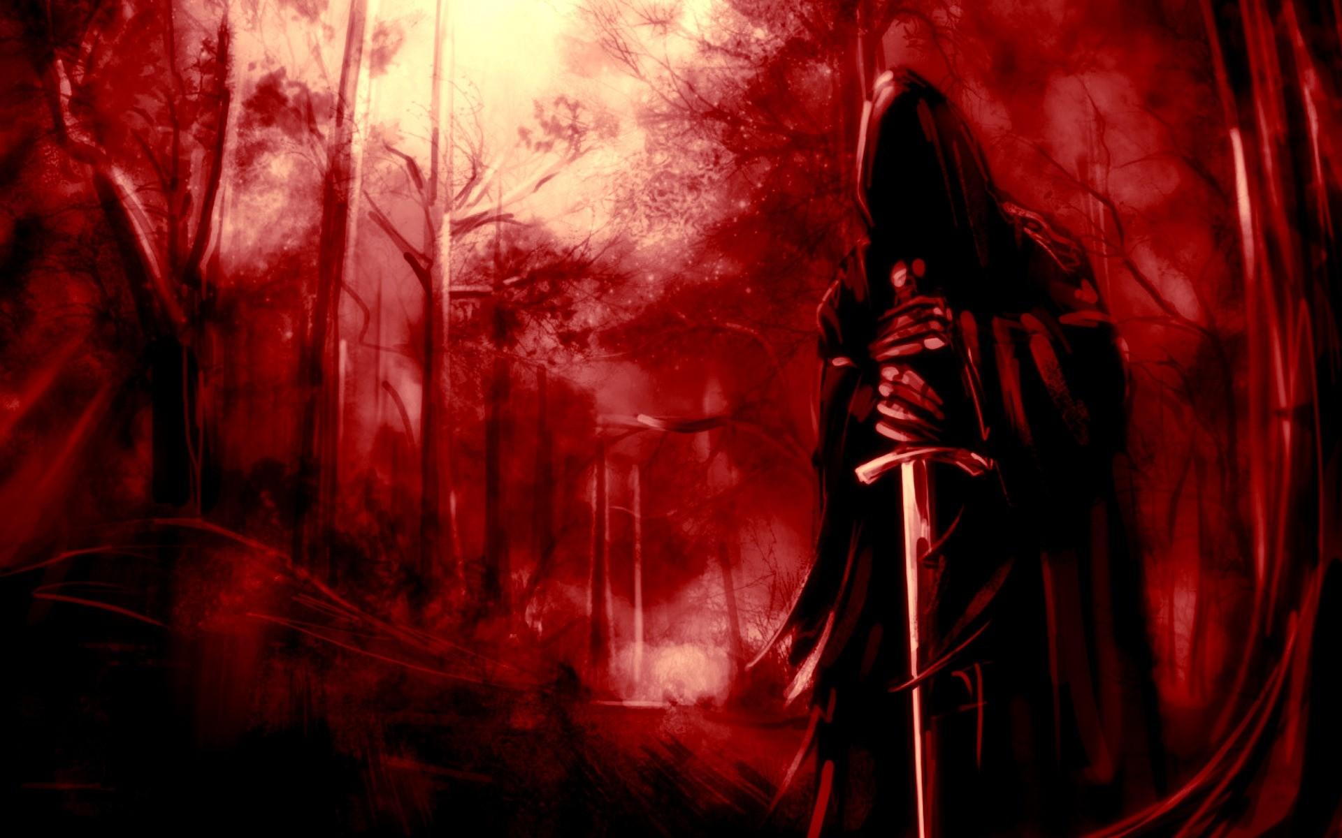 фэнтези графика женщина Grim Reaper  № 3256244 загрузить