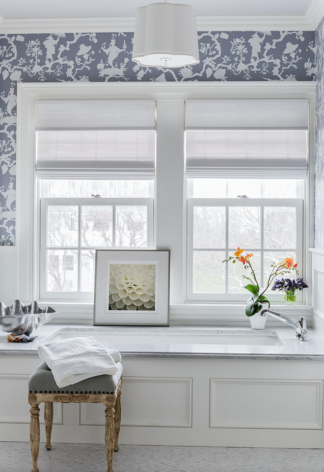 Bathroom Gray Wallpaper Bathroom Gray Wallpaper Ideas Bathroom Gray 660x963