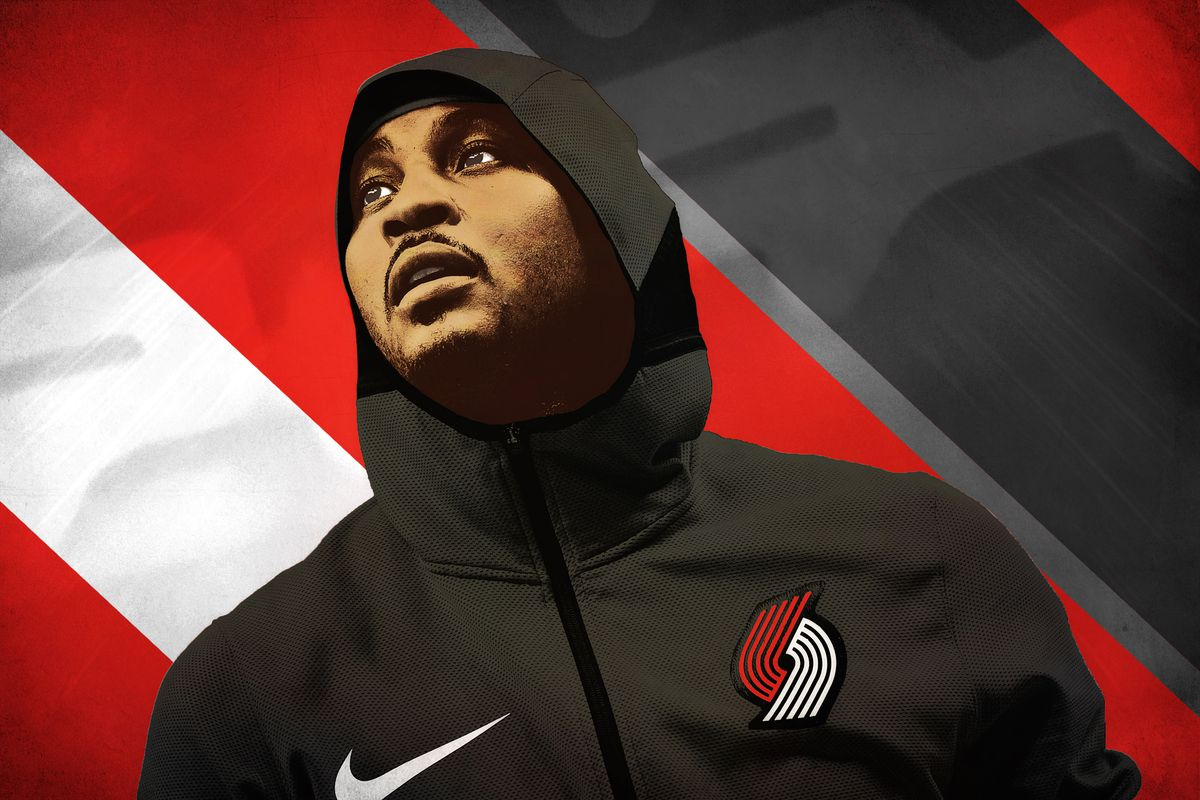 Carmelo Anthony Gets One Last Shot With the Blazers   The Ringer 1200x800