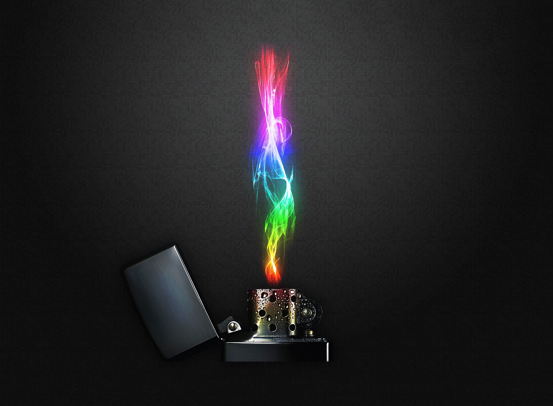 Rainbow Fire wallpaper background Other wallpapers Amazon Kindle 1920x1408