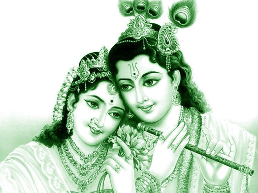 Krishna Radha Love Wallpaper Radha Krishna H...