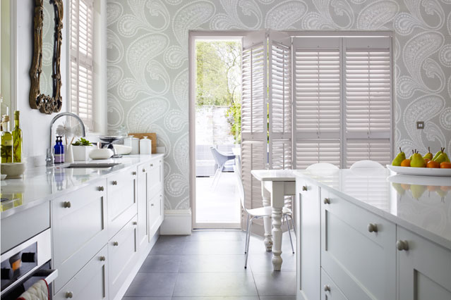Kitchen Paper   Kitchen Designs   Shabby Chic Wallpaper Ideas 639x426