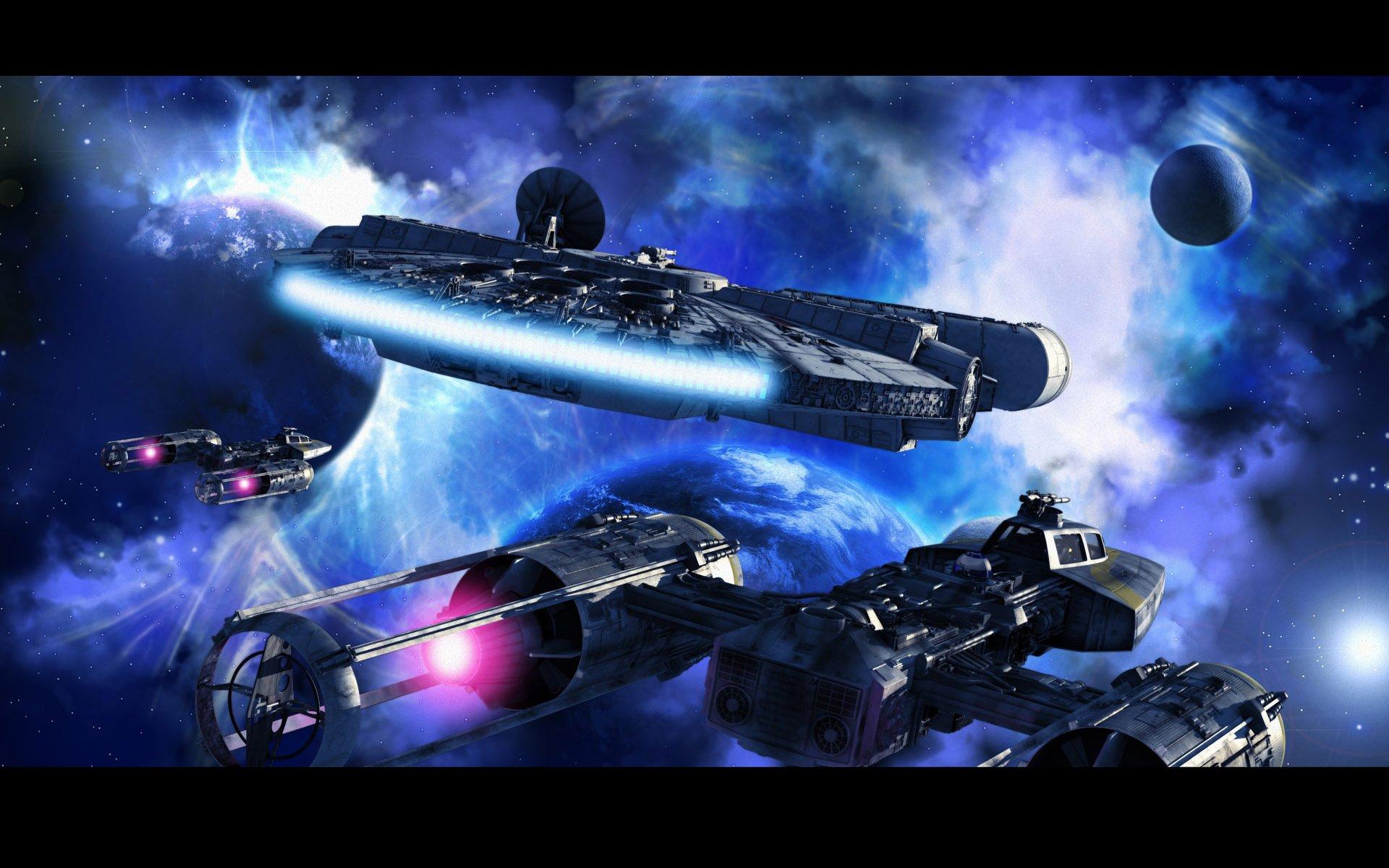 Star Wars movies sci fi futuristic space planets wallpaper 1920x1200 1920x1200