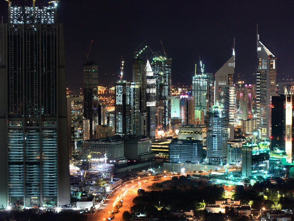 Dubai Skyline Wallpaper - WallpaperSafari