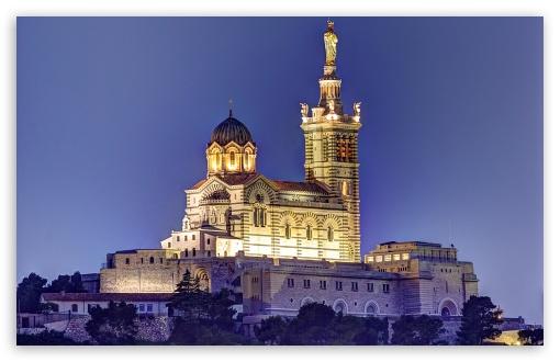 Notre Dame De La Garde HD wallpaper for Wide 1610 53 Widescreen 510x330