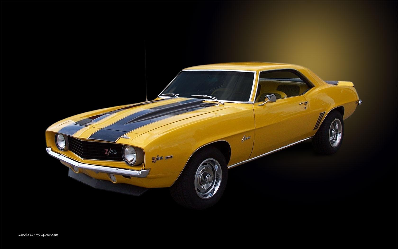 1969 chevy camaro muscle car chevrolet hd wallpaper 1680x1050