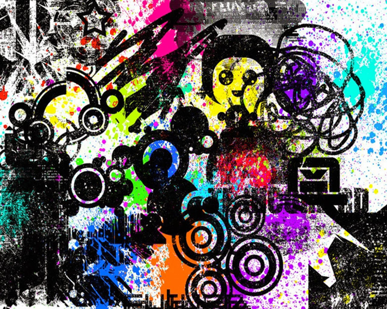 DREAM ZONE Cool Punk Emo Wallpapers 1280x1024