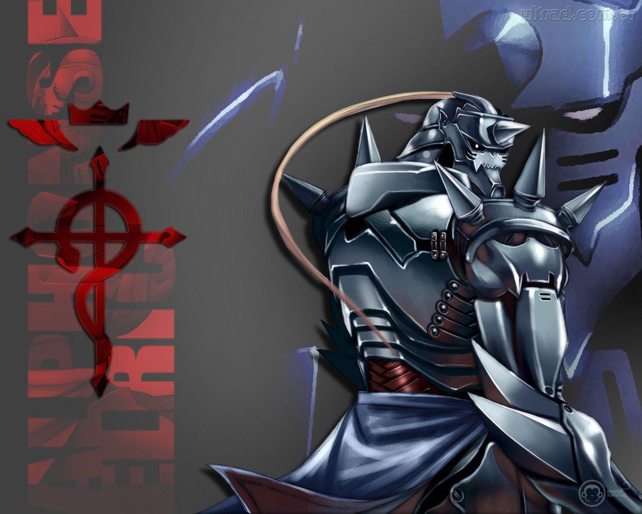 Papel de Parede   Fullmetal Alchemist   Alphonse Elric 1280x1024