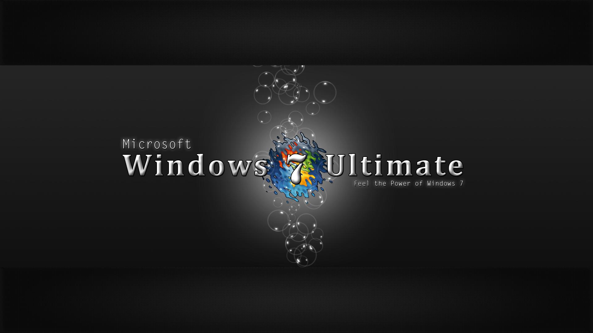 Windows 7 Ultimate Wallpaper Hd Black   1379829 1920x1080