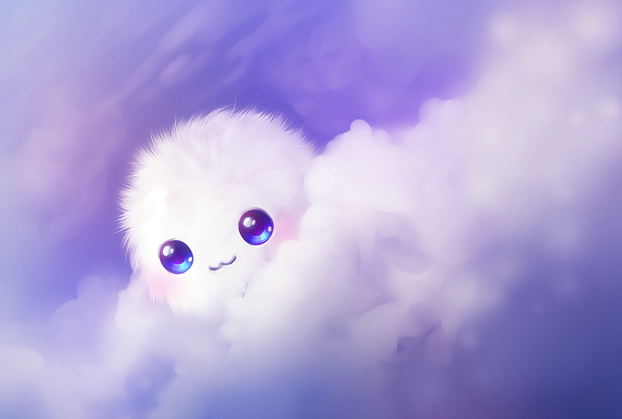 kawaii cute wallpaper ^^ by AlekSakura 890x600
