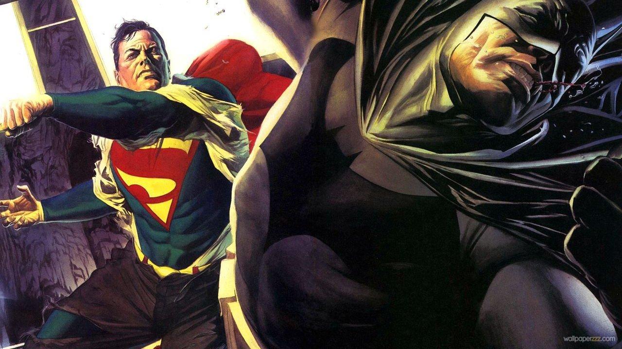 Download Superman VS Batman HD Wallpaper Wallpaper 1280x720