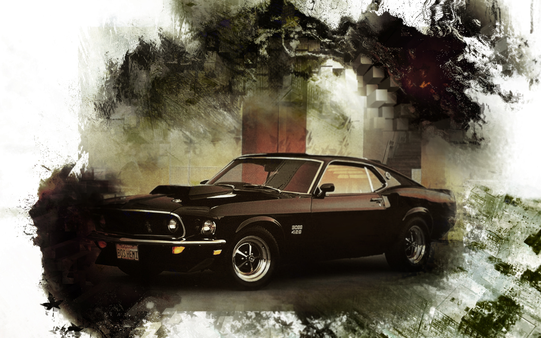 69 Mustang Boss 429 by Tellaro 1440x900