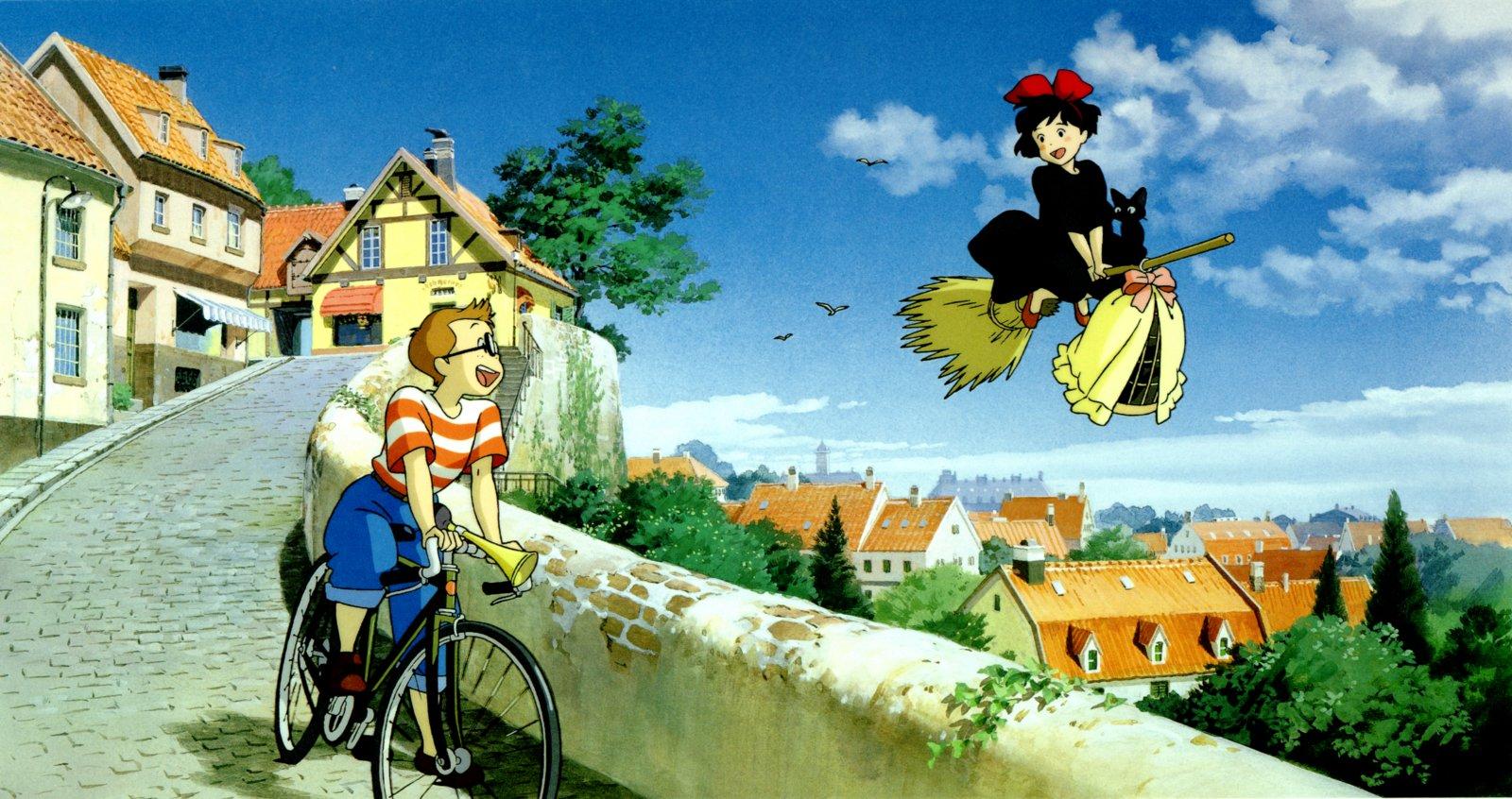 Studio Ghibli Wallpaper 1600x846 Studio Ghibli Kikis Delivery 1600x846