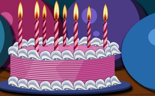 Happy birthday animated wallpaper Happy birthday animated wallpaper 590x368